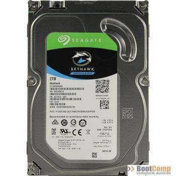 Жесткий диск 2000GB Seagate SkyHawk ST2000VX008