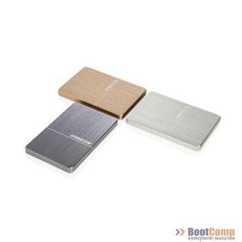 Внешний жёсткий диск 2000GB Freecom Drive Metal slim Gold