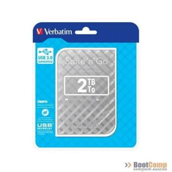 Внешний жёсткий диск 2000GB Verbatim SILVER