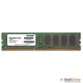 Память DDR3 8Gb 1333MHz Patriot PSD38G13332