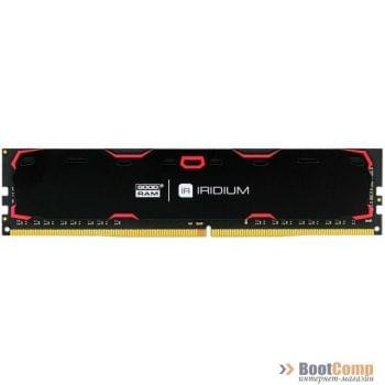 Память DDR4 8Gb 2400MHz GOODRAM IRIDIUM Black IR-2400D464L15S/8G