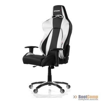 Игровое кресло AKRACING PREMIUM Black Silver V2