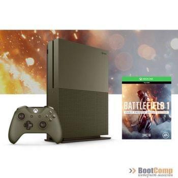Игровая консоль MICROSOFT Xbox One S 500GB + Battleield 1
