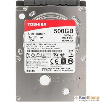 Жесткий диск для ноутбука 500GB Toshiba HDWK105UZSVA