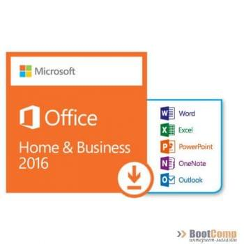 ПО Office 2016 Home and Business 2016 32-bit/x64 Russian Russia Only DVD T5D-02292/T5D-02705