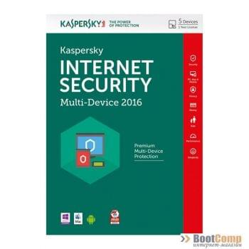 ПО Kaspersky Internet Security Multi-Device Russian Edition. 5-Device 1 year