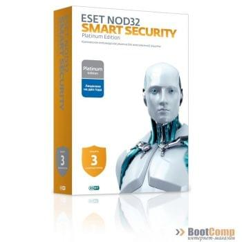 ПО ESET NOD32 Smart Security Family 1 год на 3ПК