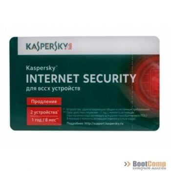 ПО Kaspersky Internet Security Multi-Device Russian Edition. 2-Device 1 year