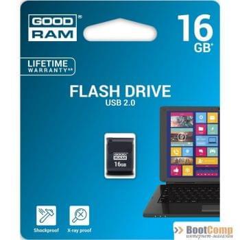 Память USB2.0 Flash Drive 16Gb GOODRAM UPI2-0160K0R11 BLACK