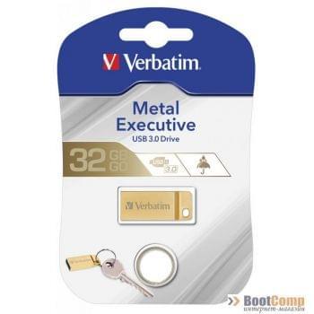USB Flash Drive 32GB Verbatim METAL EXECUTIVE GOLD (99105