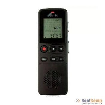 Цифровой диктофон RITMIX RR-810 8Gb Black