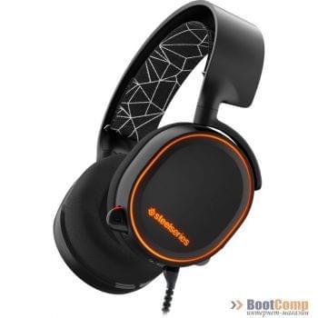 Наушники с микрофоном SteelSeries Arctis 5 Black