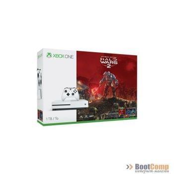 Игровая консоль MICROSOFT Xbox One S 1TB + Halo Wars 2