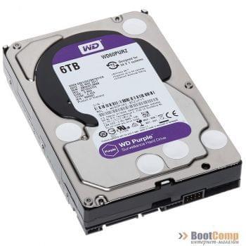 Жесткий диск 6000Gb WD WD60PURZ Purple
