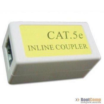 Соединитель сетевых разъемов CAT 5E NCA-LC5E-001