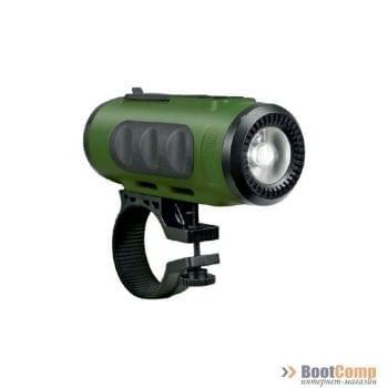 Портативная колонка + фонарик для велосипеда RITMIX SP-520BC Green+Black