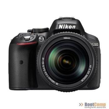 Фотоаппарат NIKON D5300 KIT [VBA370K007]