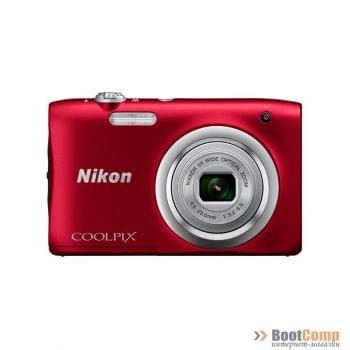 Фотоаппарат NIKON Coolpix A10 / Red