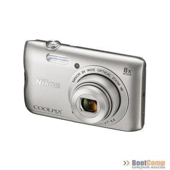 Фотоаппарат NIKON Coolpix A300 / Silver