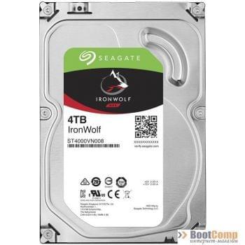 Жесткий диск 4000Gb Seagate IronWolf series ST4000VN008