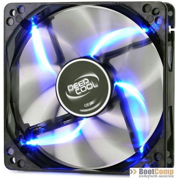 Кулер для корпуса Deepcool WIND BLADE 120 BLUE