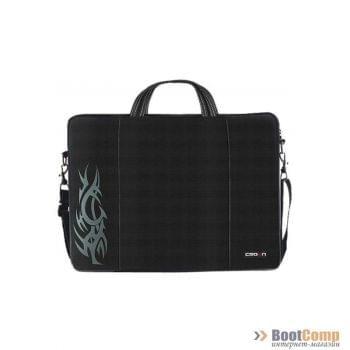 Сумка для ноутбука CROWN CMB-437 Black 15.6