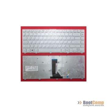 Клавиатура для ноутбука Packard Bell P4LS0. Acer 3830, 4830 Cеребристая