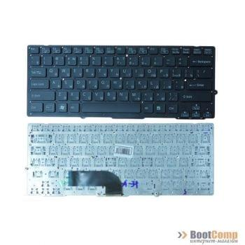 Клавиатура для ноутбука Sony Vaio VPC-SD VPC-SB Series Черная, без рамки