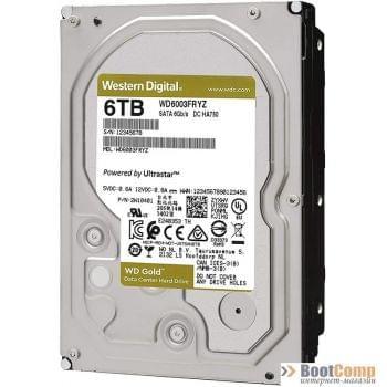 Жесткий диск 6000GB WD WD6003FRYZ Gold