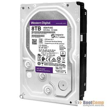 Жесткий диск 8000Gb WD WD82PURZ Purple