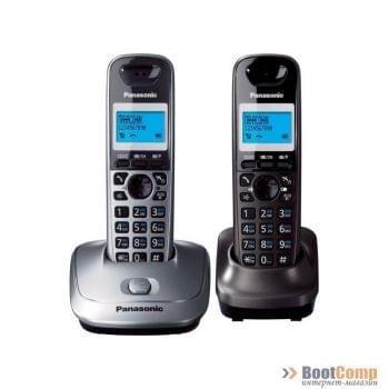 Телефон Panasonic KX-TG2512RU1 2 трубки