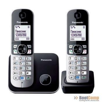 Телефон Panasonic KX-TG6812RUB 2 трубки