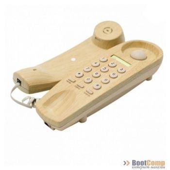 Телефон Ritmix RT-005 light wood