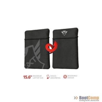 "Чехол для ноутбука Trust GXT 1242 Lido 15.6"" Laptop Sleeve black арт. 23242"