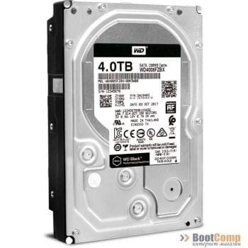 Жесткий диск 4000Gb (4TB) WD Black IV series (WD4005FZBX)
