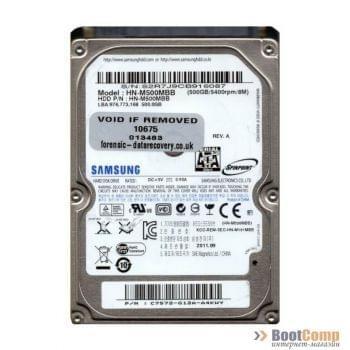Жесткий диск для ноутбука 500GB Seagate/Samsung ST500LM012/HN-M500MBB