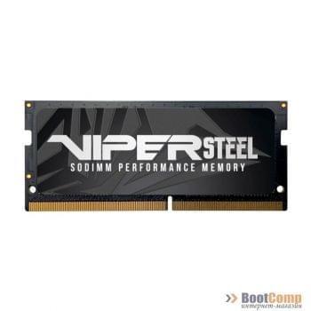 Оперативная память DDR4 SODIMM 16Gb 2400MHz Patriot Viper Steel PVS416G240C5S