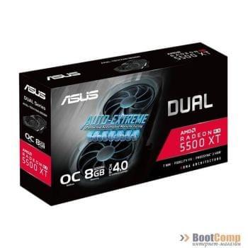 Видеокарта ASUS ATi Radeon DUAL-RX5500XT-O8G-EVO 8192Mb