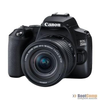 Фотоаппарат Canon EOS 250D EF-S 18-55 IS STM Kit Black