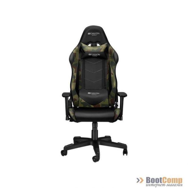 Кресло игровое CANYON Gaming CND-SGCH4AO Black+camouflage pattern