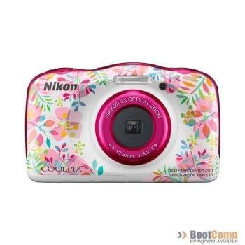 Цифровая камера NIKON Coolpix W150 + рюкзак flower
