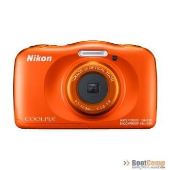 Цифровая камера NIKON Coolpix W150 + рюкзак orange
