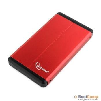 Мобильные шасси GEMBIRD EE2-U3S-2-R red USB 3.0 2.5'' enclosure