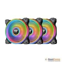 Комплект кулеров для корпуса Thermaltake Riing Quad 12 RGB Radiator Fan TT Premium Edition 3 Pack (CL-F088-PL12SW-A)