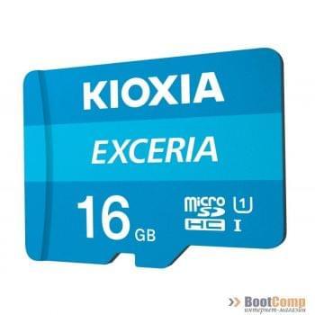 Память micro Secure Digital Card 16Gb class10 KIOXIA (Toshiba) [LMEX1L016GG2]