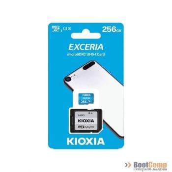 Память micro Secure Digital Card 256Gb class10 KIOXIA (Toshiba) [LMEX1L256GG2]