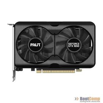 Видеокарта PALIT GeForce GTX 1650 DUAL OC 4096Mb NE61650S1BG1-1175A