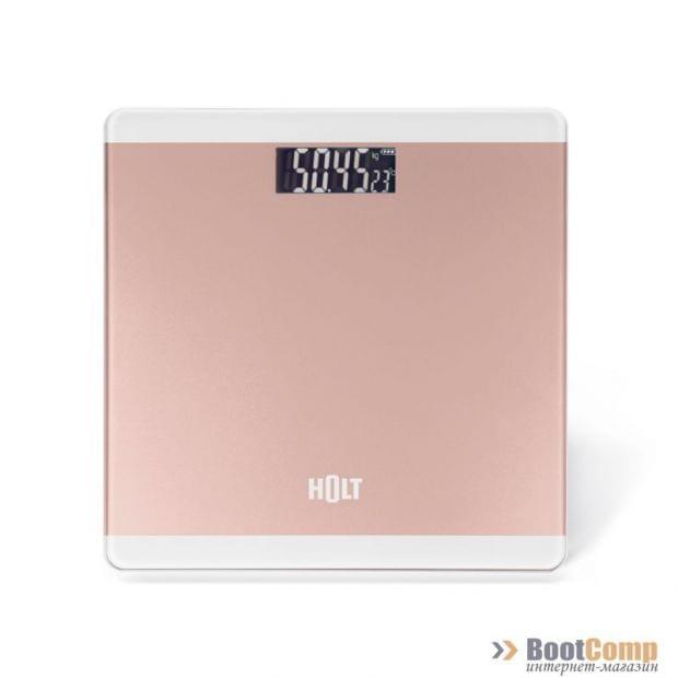 Весы электронные напольные HOLT HT-BS-008 rose